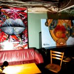 Artist Monisha paintings exhibition named from lips to lips