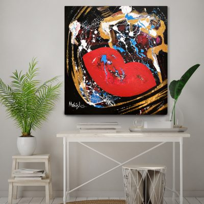 Abstract painting by Monisha Art