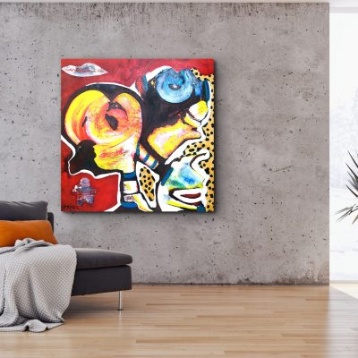 Contemporary Art Painting by Monisha Art